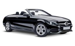 MERCEDES CLASSE C CABRIO C250D PremiumPlus Automatic nera fronte