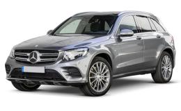 MERCEDES CLASSE GLC 350E 4matic Premium grey fronte