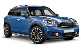 MINI COUNTRYMAN Cooper S E All4Hype blu fronte