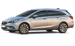 OPEL ASTRA SW St 1.6 Cdti Innovation 136cv At6 grigia fronte