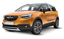 OPEL CROSSLAND X 1.6 Diesel 120cv Ultimate S&s Mt6 arancio fronte