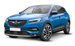 OPEL GRANDLAND X 1.6 Diesel 120cv Innovation S&s At6 blu fronte