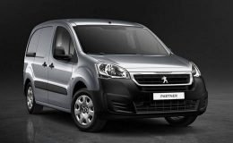 PEUGEOT PARTNER L1 Full Electric grigio fronte
