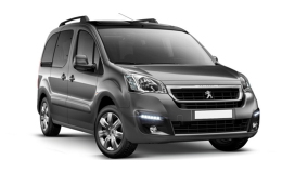 PEUGEOT PARTNER Full Electric Active grigia fronte