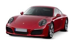 Porsche 911 Coupe Carrera 4 Coupe Gts Rossa Fronte