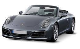 Porsche 911 Cabrio Carrera 4 Gts Neri Fronte