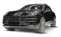 Porsche Macan S Diesel Nera Fronte