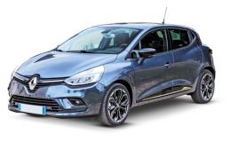 RENAULT CLIO 1.5 Dci 90cv Energy Intens Edc azzurra fronte