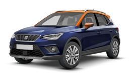 SEAT ARONA 1.0 Eco Tsi 85kw Xcellence Dsg blu fronte