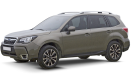 SUBARU FORESTER 2.0d 6mt Lineartronic Sport Unlimited verde militare fronte