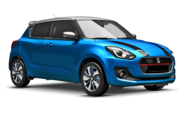 SUZUKI SWIFT 1.2 Hybrid Top 2wd azzurra fronte
