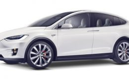 TESLA MODEL X 100Kwh Performance 4wd bianca fronte
