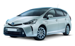 TOYOTA PRIUS Plug-In Hybrid grey fronte