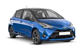 TOYOTA YARIS 1.5 Hybrid Style blu fronte