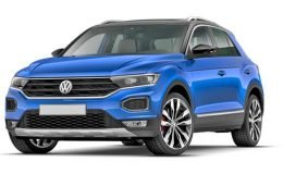 VOLKSWAGEN T-ROC 2.0 Tdi Advanced Bmt Dsg 4motion blu fronte