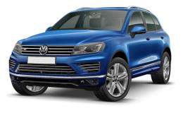 VOLKSWAGEN TOUAREG 3.0 V6 Tdi Scr193kw Tiptronic Bmt Sport blu fronte