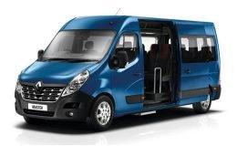 RENAULT MASTER minibus fronte