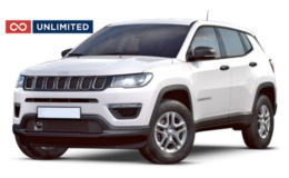 JEEP COMPASS Unlimited Abbonamento - ATX 2.0 Limited 4wd bianca fronte