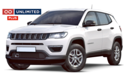 JEEP COMPASS Unlimited Plus Abbonamento - ATX 2.0 Limited 4wd bianca fronte
