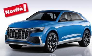 News nuova Audi Q8 link sito