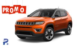 JEEP COMPASS 2.0 Mjet 4wd 9A Promo Stock Arancio