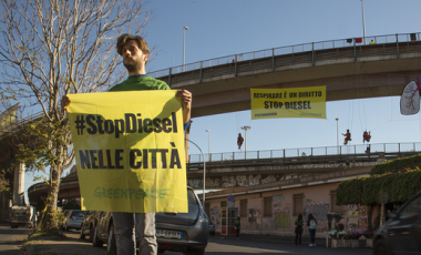 news stop al diesel a Roma dal 2024 sito