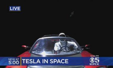 news tesla nello spazio space x tesla roadster sito