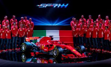 Ferrari SF71H presentazione