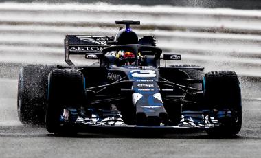Daniel Ricciardo miglior tempo sul giro a Montmelò