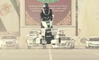 Moto volante a Dubai