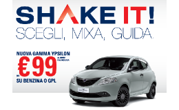 Shake it di lancia Ypsilon