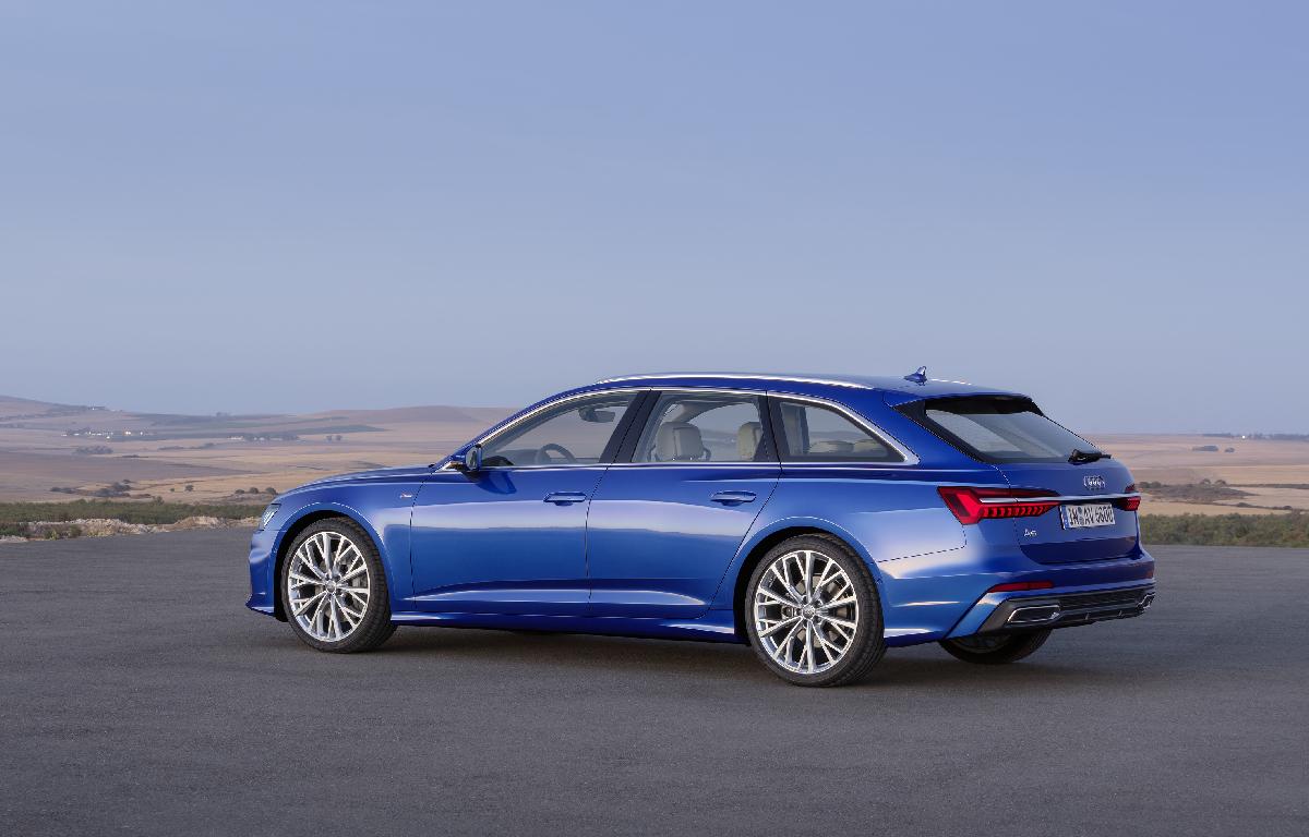Audi A6 Avant sx 1