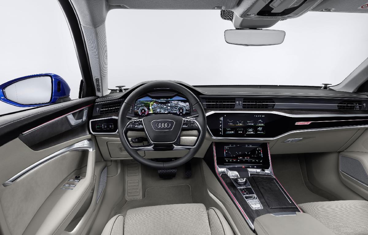 Audi A6 Avant interno driver