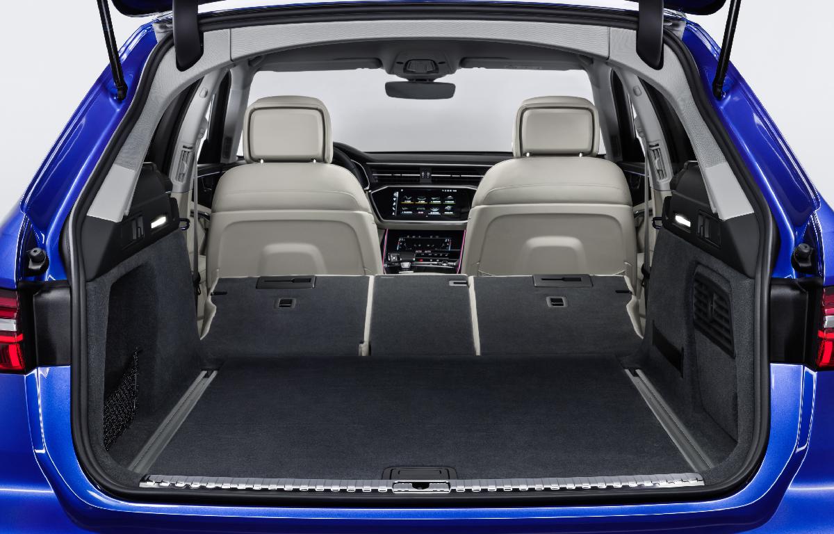 Audi A6 Avant bagagliaio 2