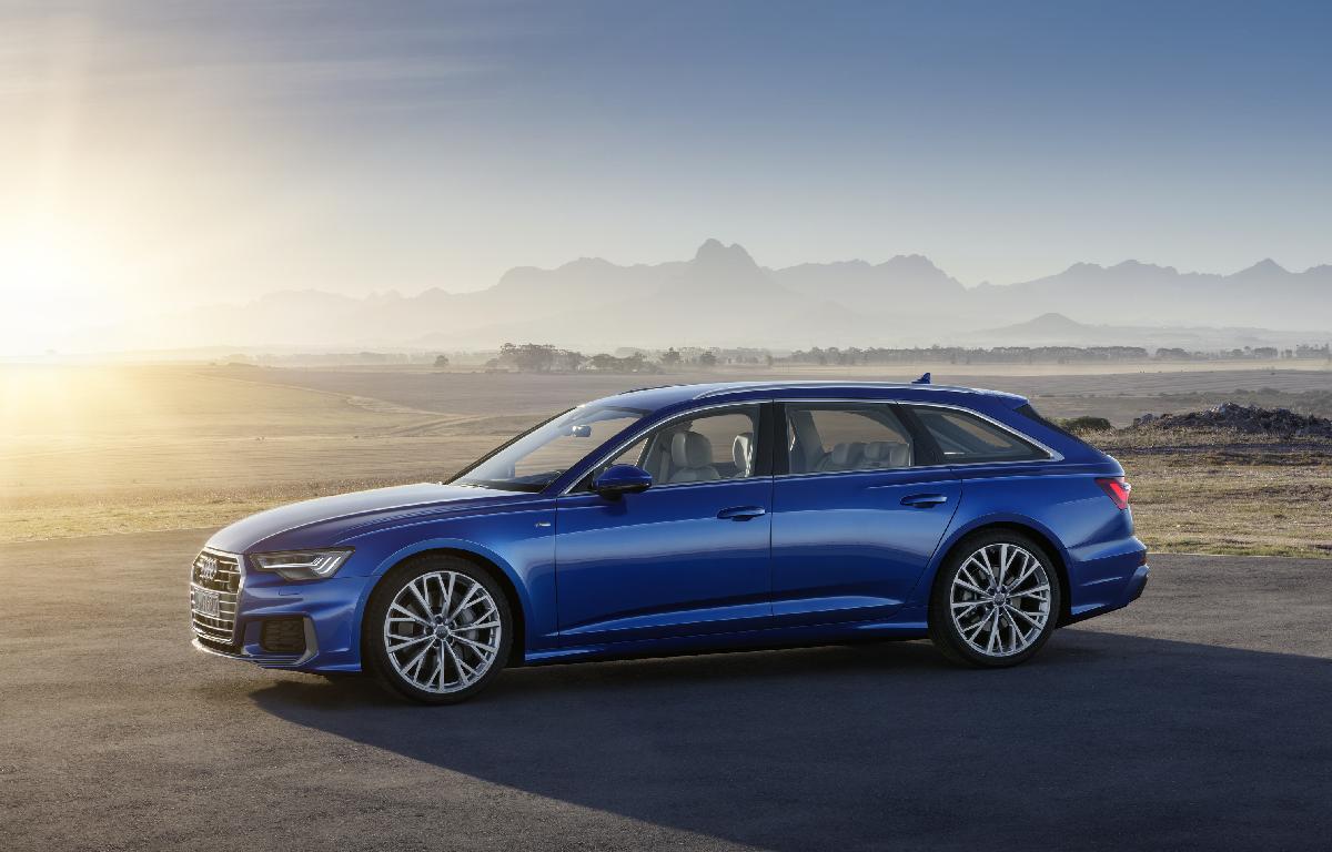 Audi A6 Avant sx