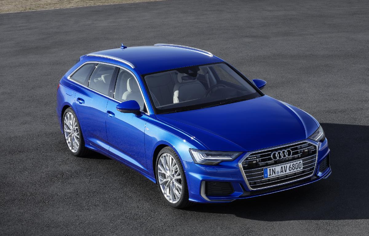 Audi A6 Avant fronte 2