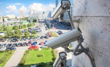 Telecamere riattivate nell'area aeroportuale di Linate.