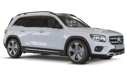 Mercedes GLB fronte Grey 2019