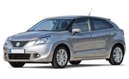 Suzuki Baleno fronte Grey 2019