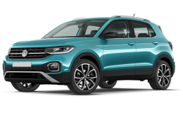 Volkswagen T-Cross Blue 2019 Noleggio Lungo Termine