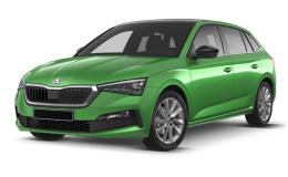 Skoda Scala 2019 Green