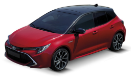 Toyota Corolla 2019 Rossa