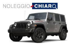 Noleggio Chiaro Jeep Wrangler