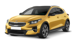 Kia XCeed fronte Yellow New Crossover