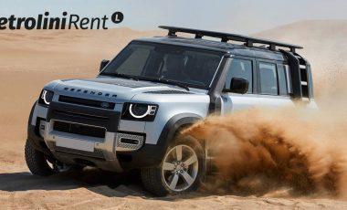 Duro e puro Land Rover Defender