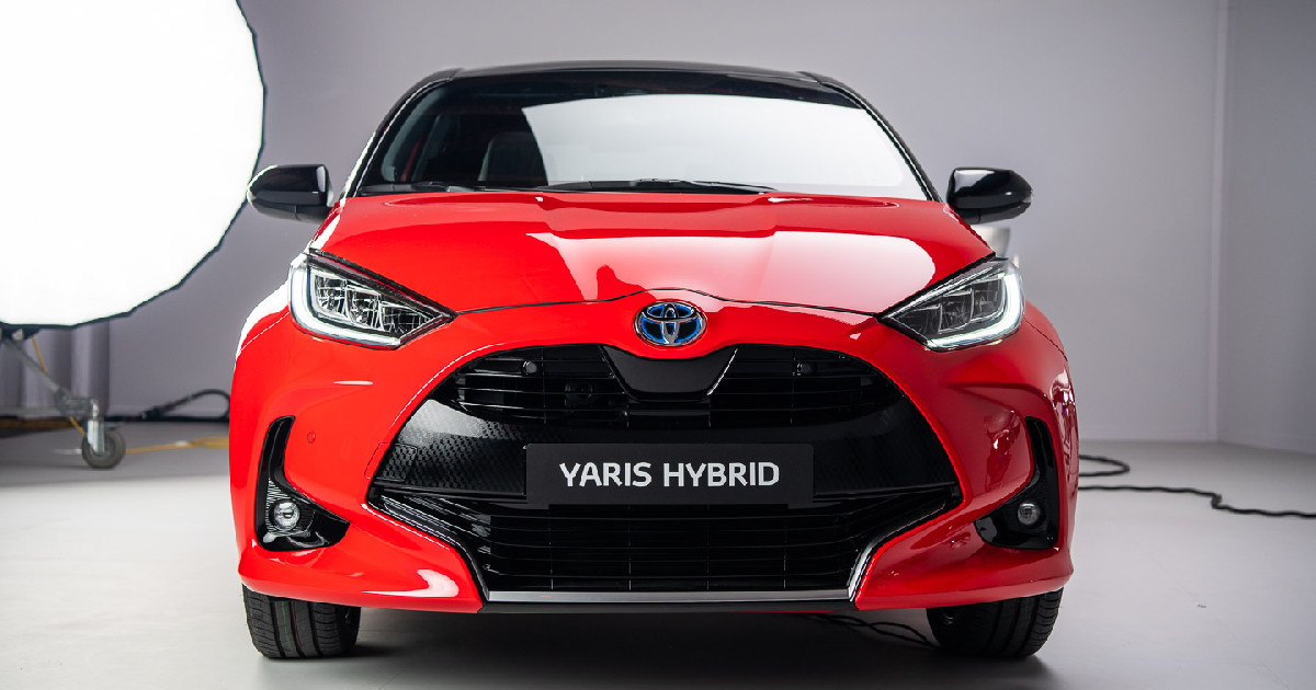 Toyota Yaris 2020 frontale