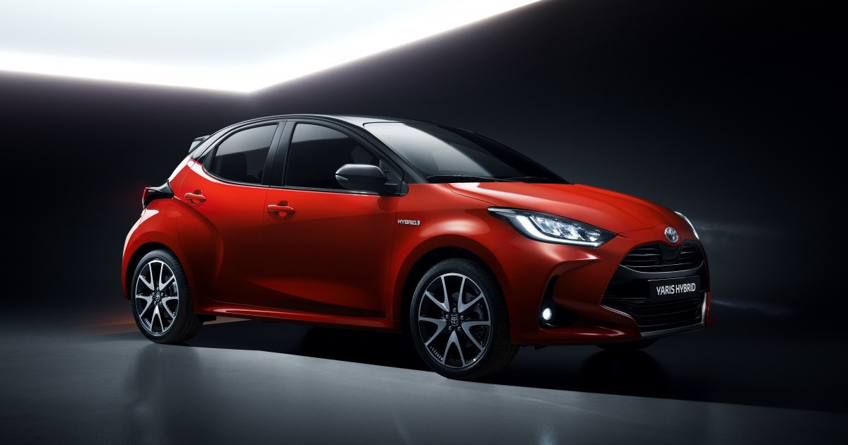 Toyota Yaris 2020 laterale